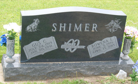 SHIMER, ROWENA LOUISE - Taylor County, Iowa | ROWENA LOUISE SHIMER
