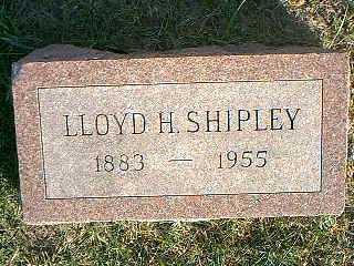 SHIPLEY, LLOYD H. - Taylor County, Iowa   LLOYD H. SHIPLEY