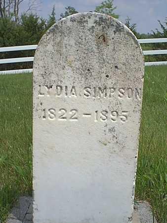 SIMPSON, LYDIA - Taylor County, Iowa | LYDIA SIMPSON