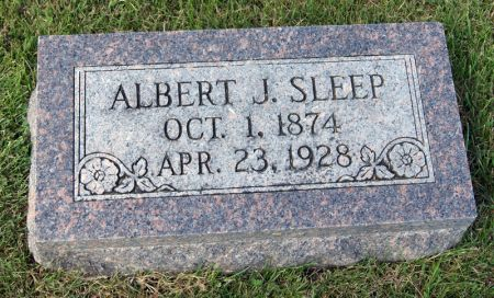 SLEEP, ALBERT JASPER - Taylor County, Iowa | ALBERT JASPER SLEEP