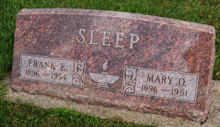 SLEEP, MARY ORLEAN - Taylor County, Iowa | MARY ORLEAN SLEEP