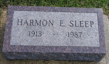 SLEEP, HARMON ELLIS - Taylor County, Iowa | HARMON ELLIS SLEEP