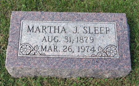 WEINGARTH SLEEP, MARTHA JANE