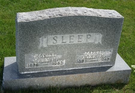 SLEEP, JOHN MARTIN - Taylor County, Iowa | JOHN MARTIN SLEEP