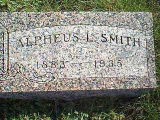 SMITH, ALPHEUS L. - Taylor County, Iowa | ALPHEUS L. SMITH