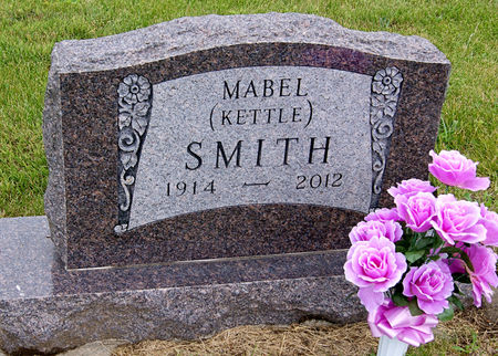 KETTLE SMITH, MABEL PAULINE - Taylor County, Iowa   MABEL PAULINE KETTLE SMITH