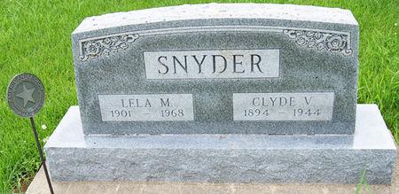 DOWELL SNYDER, LELA MAE - Taylor County, Iowa | LELA MAE DOWELL SNYDER
