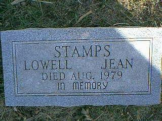 STAMPS, LOWELL JEAN - Taylor County, Iowa | LOWELL JEAN STAMPS