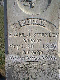 STANLEY, EDGAR - Taylor County, Iowa   EDGAR STANLEY