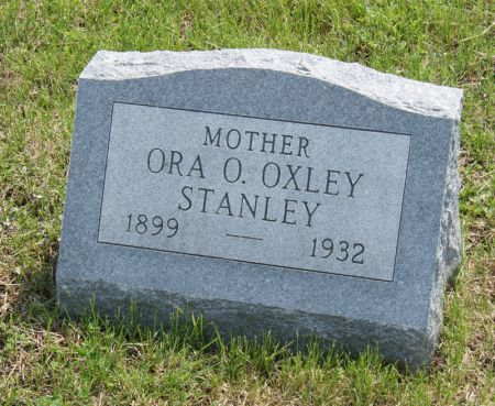 OXLEY STANLEY, ORA ORPHA - Taylor County, Iowa | ORA ORPHA OXLEY STANLEY