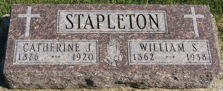 STAPLETON, CATHERINE JOSEPHINE - Taylor County, Iowa | CATHERINE JOSEPHINE STAPLETON