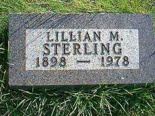STERLING, LILLIAN M. - Taylor County, Iowa   LILLIAN M. STERLING
