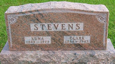 CAVETT STEVENS, EDNA MARY - Taylor County, Iowa   EDNA MARY CAVETT STEVENS