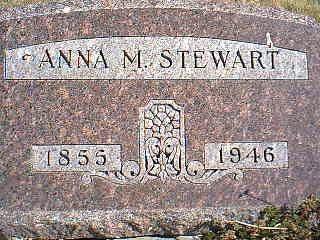 STEWART, ANNA M. - Taylor County, Iowa | ANNA M. STEWART