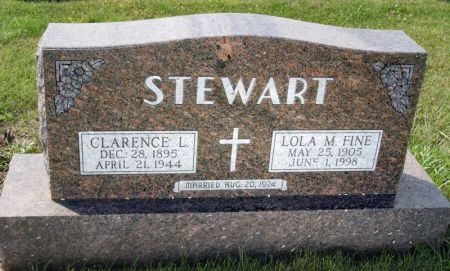 STEWART, CLARENCE L - Taylor County, Iowa | CLARENCE L STEWART