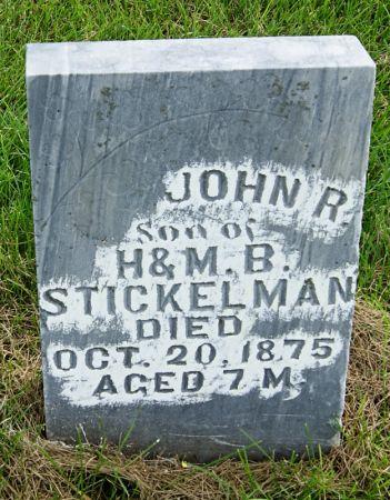 STICKELMAN, JOHN REUBEN - Taylor County, Iowa | JOHN REUBEN STICKELMAN