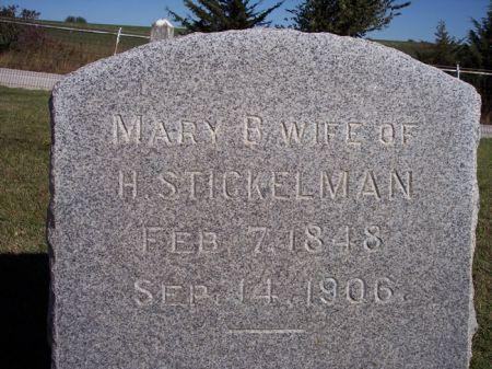 STICKELMAN, MARY B. - Taylor County, Iowa | MARY B. STICKELMAN