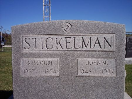 STICKELMAN, JOHN M. - Taylor County, Iowa | JOHN M. STICKELMAN