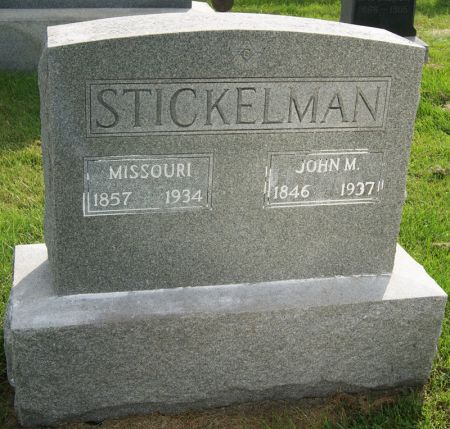 STICKELMAN, MISSOURI ANN - Taylor County, Iowa | MISSOURI ANN STICKELMAN