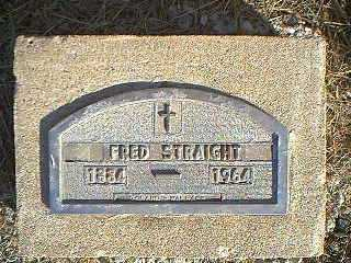 STRAIGHT, FRED - Taylor County, Iowa | FRED STRAIGHT