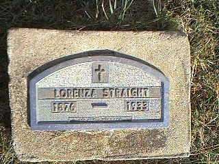 STRAIGHT, LORENZA - Taylor County, Iowa | LORENZA STRAIGHT