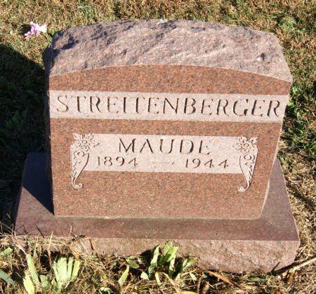 DURFEY STREITENBERGER, MAUDE - Taylor County, Iowa | MAUDE DURFEY STREITENBERGER