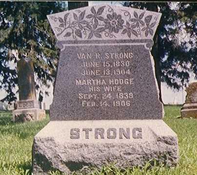 HODGE STRONG, MARTHA - Taylor County, Iowa | MARTHA HODGE STRONG