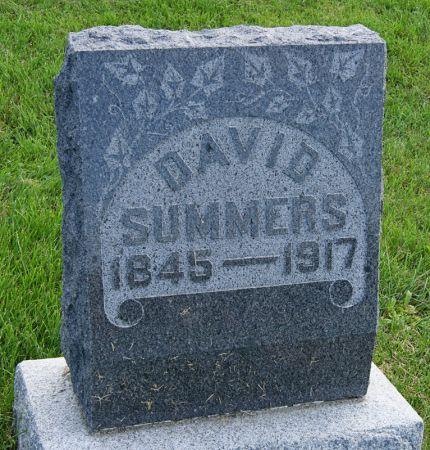 SUMMERS, DAVID SMITH - Taylor County, Iowa | DAVID SMITH SUMMERS