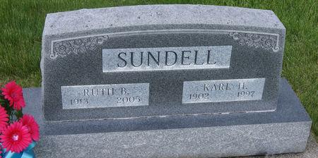 BRUNER SUNDELL, RUTH - Taylor County, Iowa | RUTH BRUNER SUNDELL
