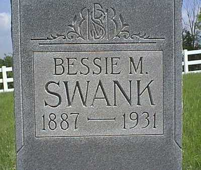 SWANK, BESSIE M. - Taylor County, Iowa | BESSIE M. SWANK