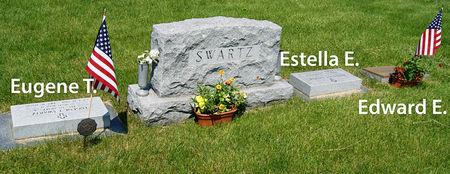 SWARTZ, EUGENE THORNTON, FAMILY PLOT - Taylor County, Iowa   EUGENE THORNTON, FAMILY PLOT SWARTZ