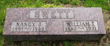 TACKETT SWETT, NANCY JANE - Taylor County, Iowa | NANCY JANE TACKETT SWETT