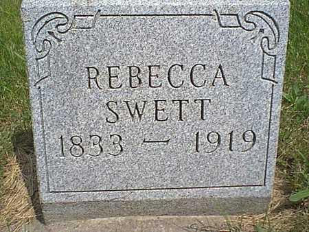 SWETT, REBECCA - Taylor County, Iowa | REBECCA SWETT