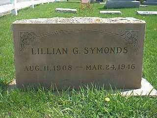 SYMONDS, LILLIAN G. - Taylor County, Iowa | LILLIAN G. SYMONDS
