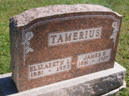 REEVES TAMERIUS, ELIZABETH LOUISA - Taylor County, Iowa   ELIZABETH LOUISA REEVES TAMERIUS