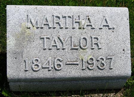 TAYLOR, MARTHA ANN - Taylor County, Iowa | MARTHA ANN TAYLOR