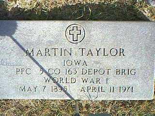 TAYLOR, MARTIN - Taylor County, Iowa | MARTIN TAYLOR