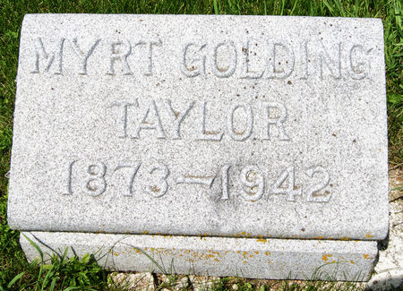 GOLDING TAYLOR, TABITHA MYRTLE MAY
