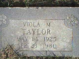 TAYLOR, VIOLA M. - Taylor County, Iowa | VIOLA M. TAYLOR