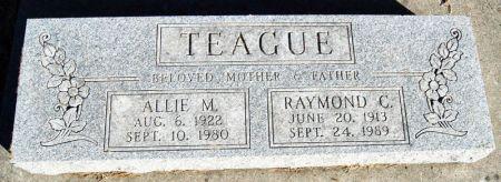 TEAGUE, ALLIE MAE - Taylor County, Iowa | ALLIE MAE TEAGUE