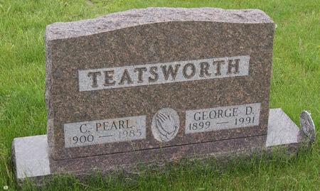 PARKS TEATSWORTH, CLARA PEARL - Taylor County, Iowa | CLARA PEARL PARKS TEATSWORTH