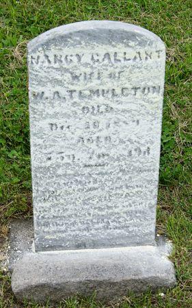 GALLANT TEMPLETON, NANCY JANE - Taylor County, Iowa   NANCY JANE GALLANT TEMPLETON