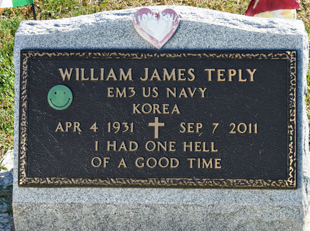 TEPLY, WILLIAM JAMES - Taylor County, Iowa | WILLIAM JAMES TEPLY