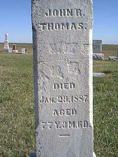 THOMAS, JOHN R. - Taylor County, Iowa | JOHN R. THOMAS