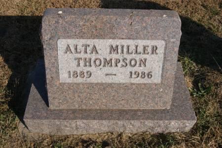 WEATHERLY THOMPSON, ALTA MAY - Taylor County, Iowa   ALTA MAY WEATHERLY THOMPSON