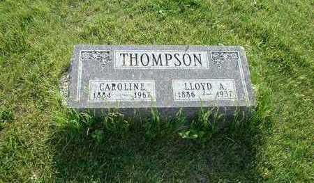 THOMPSON, LLOYD A. - Taylor County, Iowa | LLOYD A. THOMPSON
