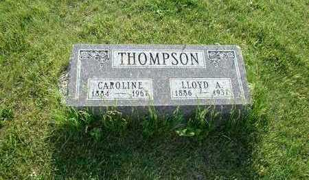 THOMPSON, CAROLINE - Taylor County, Iowa | CAROLINE THOMPSON