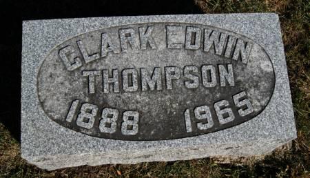 THOMPSON, CLARK EDWIN - Taylor County, Iowa | CLARK EDWIN THOMPSON