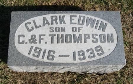 THOMPSON, JR., CLARK EDWIN - Taylor County, Iowa | CLARK EDWIN THOMPSON, JR.