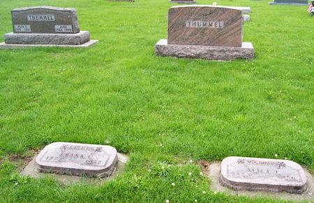 THUMMEL, FRANK CHARLES, FAMILY PLOT OF - Taylor County, Iowa | FRANK CHARLES, FAMILY PLOT OF THUMMEL